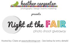 new post - GIVEAWAY: free photo shoot with heather carpenter - enter away!
