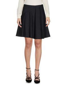 JIL SANDER NAVY Women's Knee length skirt Steel grey 4 US