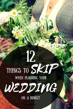 Wedding Planning What To Skip (and where not to skimp!) Skip these 12 things if you're planning your wedding on a budget (no one will miss them! Wedding Planning On A Budget, Plan Your Wedding, Wedding Tips, Wedding Events, Wedding Ceremony, Wedding Day, Wedding Decor On A Budget, Wedding Budget Planner, Spring Wedding