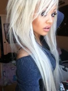 The style isn't for me, but I love the color. I may look like a pixie with it because I'm so pale. Lol.