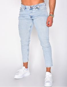Jeans homme pas cher, jeans Redskins, jean Sixth June - Jeans Industry Jeans Denim, Jeans Pants, Mode Jeans, Super Skinny Jeans, Denim Fashion, How To Wear, Men, Clothes, Jackets