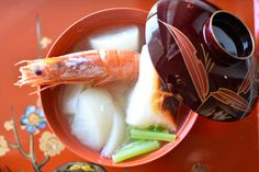 えびとかぶとおもち♥シンプル♥お雑煮【#さっと煮 #ヤマキだし部】 レシピブログ Panna Cotta, Fish, Ethnic Recipes, Japanese, Dulce De Leche, Japanese Language, Pisces