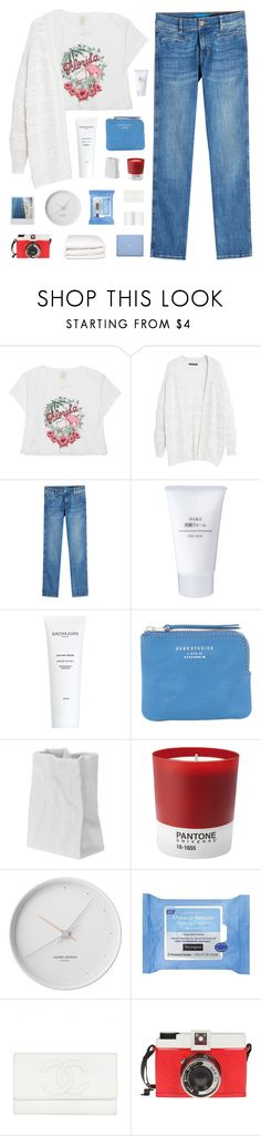"""hurley"" by cnellepoms ❤ liked on Polyvore featuring Anna Sui, Violeta by Mango, M.i.h Jeans, Muji, J.Crew, Acne Studios, Rosenthal, Pantone, Georg Jensen and Neutrogena"