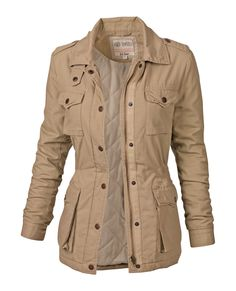 Cat Four Pocket Jacket in sand