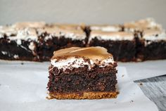 S'mores Brownies | Blessings + Good Food