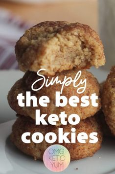 Keto Snickerdoodle Cookies that are only carbs per cookie! These keto cookies are a perfect keto dessert for your keto diet. Keto Snickerdoodle Cookies that are only carbs per cookie! These keto cookies are a perfect keto dessert for your keto diet. Keto Foods, Ketogenic Recipes, Keto Snacks, Keto Meal, Ketogenic Diet, Dukan Diet, Diabetic Snacks, Galletas Keto, Low Carb