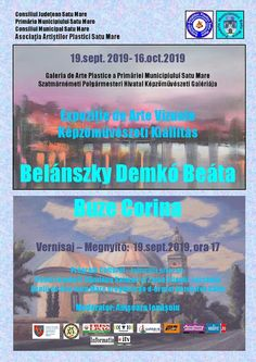 Expozitie Belánszky Demkó Beáta și Buze Corina