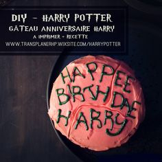 Theme Harry Potter, Harry Potter Food, Harry Potter Birthday, Cake Paris, Harry Potter Bricolage, Anniversaire Harry Potter, The Incredibles, Christmas, Crafts