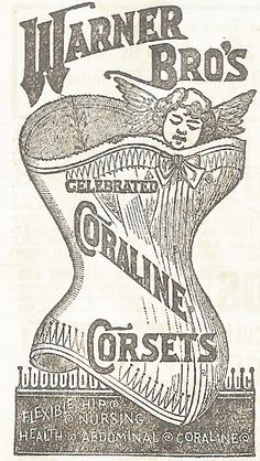 Knick of Time: Wednesday Feature - Antique Graphics & Instant Art - Harvest Moon, Corset, Gorgeous Bodice