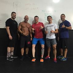 """HomeGrown CrossFit dudes. #Crossfit #health #workout #wod #fit #fitness #exercise #crossfitmen #HomeGrownCrossfit #HGXFIT #hgx @tward1022 @walsh55 @phnidy @88rgarcia @maligatork9"" Photo taken by @hgxfit on Instagram, pinned via the InstaPin iOS App! http://www.instapinapp.com (08/23/2015)"