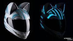 Glow Cat Helmet