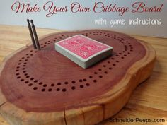 Make Your Own Cribbage Board