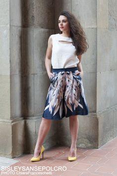 #womanstyle #totallook #fashion #sisleysansepolcro