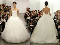 Vera Wang Fall 2013 Embroidered Princess Tulle Bridal Gown | Recent Bridal 2013