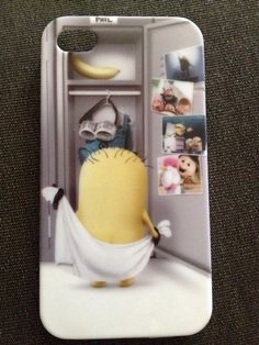 Despicable Me Minion cell phone cover
