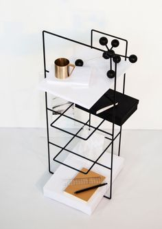 the minimalist linea storage system/magazine rack by alvaro diaz hernandez — explore our parcels of elevated essentials @ minimalism.co