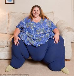 One of the super morbidly obese. These are real people.