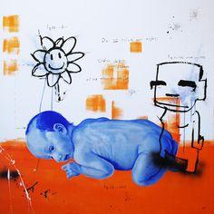 "Saatchi Art Artist Jan-Hein Arens; Painting, ""Mother"" #art"