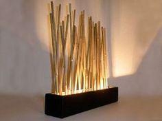 Luz y bambú Más