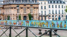 Quand le street-art remplace les cadenas du pont des Arts - Piwee
