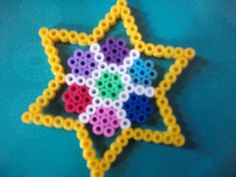 Star hama beads by  Perles-hama-modeles - skyrock