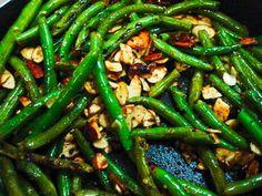 Easy Green Beans Almondine