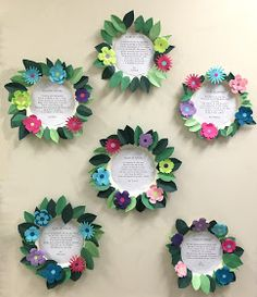Here's another look at my Spring Poetry project. The image above is from one of my students this year. I used a die cutter to cu...