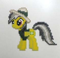 MLP Daring Do perler beads by Noctico