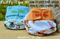 Fluffy Tips #1 – How To Keep Your GroVia Hook & Loop Looking New