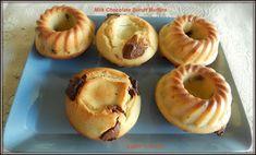 Milk Chocolate Bundt Muffins#BundtBakers - Sneha's Recipe Homemaking, Doughnut, Muffins, Milk, Chocolate, Baking, Breakfast, Desserts, Recipes