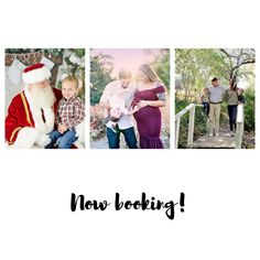 Now Booking Mini and full sessions (and Santa one on one experiences) in the Inland Empire/San Diego County area!