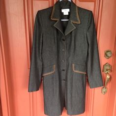 Vertigo Paris coat NWOT never worn no stains no rips nothing Vertigo Paris Jackets & Coats