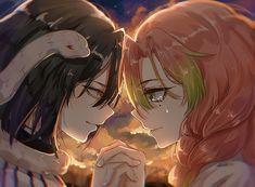Anime Love, Anime Cupples, Anime Demon, Anime Art, Zoo Wee Mama, Adventure Time Marceline, Matching Profile Pictures, Demon Slayer, Boku No Hero Academy