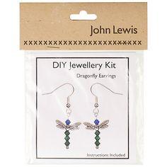 DIY Dragonfly Earrings Jewellery Kit
