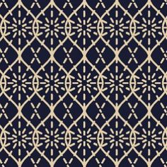 Tissu Japonais bleu: 110 de large : 18€ le mètre