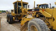 Caterpillar 160H Motor Grader for sale 817-379-1340 http://brequipmentco.com #caterpillar #grader #heavyequipmentguy #heavyequipment  #cat160h