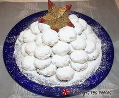 Greek Desserts, Greek Recipes, Kourabiedes Recipe, Christmas Treats, Christmas Time, Biscotti Cookies, Diy And Crafts, Dairy, Cheese