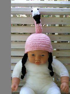 Baby Flamingo Hat by BamaCrochetDesigns on Etsy, $25.00