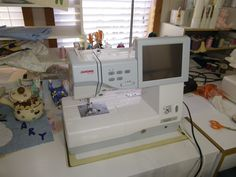 My embroidery machine good for making quilt labels