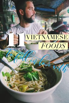 11 Vietnamese Food Dishes to Fall in Love With (Beyond Pho!): Our trip to Vietnam spoiled us with incredibly delicious Vietnamese food! From the pho you already know, to the bun bo you should, here's a list of some of the best Vietnamese cuisine we were able to enjoy on our travels!