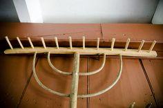 Traditional Woodworking Tour: Hay Rake! (WoodAndShop.com)