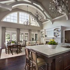 The award-winning high-end custom residential design firm of VanBrouck and Associates represents the highest level in design creativity. With over 110 awards, their homes reflect a refined elegance and attention to detail.