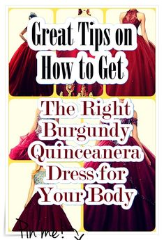 Quinceanera Guide - Burgundy Quinceanera Dresses In Autumn Shades. Select one of these Burgundy quinceanera gowns for your big day! Quince Dresses, 15 Dresses, Cute Dresses, Burgundy Quinceanera Dresses, Quinceanera Party, Burgundy Dress, Our Girl, Fashion Show, Gowns