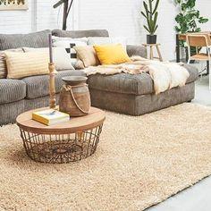 Vloerkledenwinkel Home Collection Berber Natura Vloerkleed 200 x 280 cm