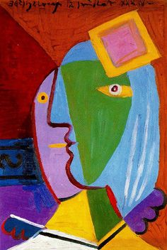 Pablo Picasso, Woman with Cap, 1934 Art Picasso, Picasso Portraits, Picasso Paintings, Georges Braque, Cubist Movement, Arte Popular, Art Moderne, Abstract Art, Abstract Paintings
