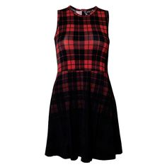 tartan skater dress.. cute, comfy and tough www.attitudeholland.nl