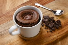 This easy dessert will beat the chill and warm the heart Baked Chocolate Pudding, My Recipes, Cooking Recipes, Chocolate Fondant, Vanilla Essence, Cake Flour, Easy Desserts, A Food, Food To Make