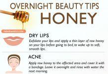 Overnight Beauty Tips with Honey