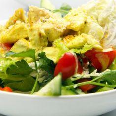 Reţete: Salată mexicană - Retete culinare - Romanesti si din Bucataria internationala Quesadilla, Enchiladas, Guacamole, Potato Salad, Food And Drink, Potatoes, Chicken, Ethnic Recipes, Chili Con Carne