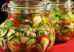 Preserves, Pickles, Cucumber, Food And Drink, Canning, Fitness, Thermomix, Gymnastics, Preserving Food